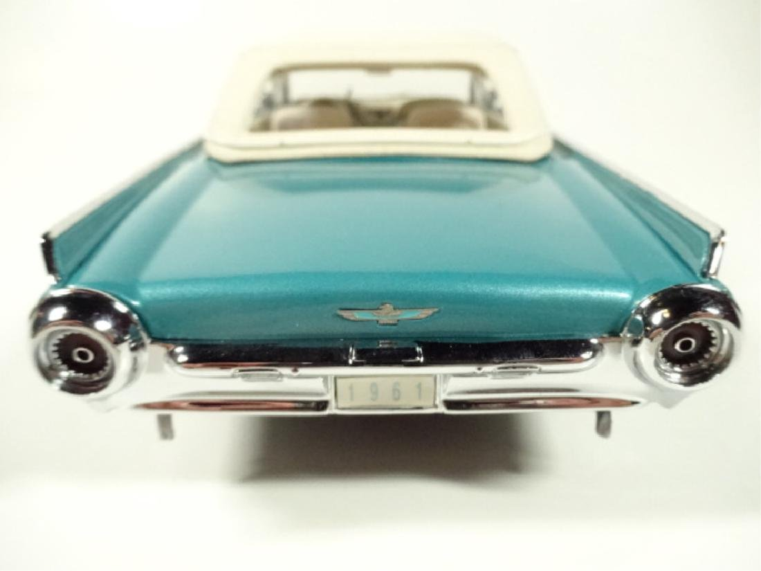 1961 FORD THUNDERBIRD CONVERTIBLE, MINT CONDITION, - 4
