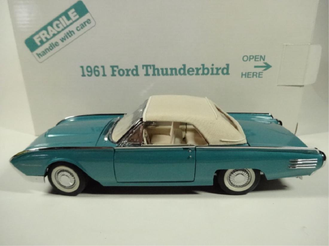 1961 FORD THUNDERBIRD CONVERTIBLE, MINT CONDITION, - 6