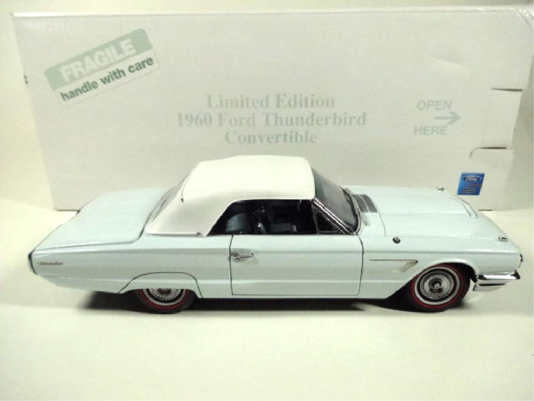 1960 FORD THUNDERBIRD CONVERTIBLE, MINT CONDITION, - 8