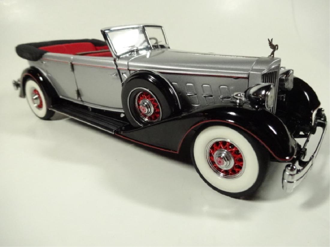 1934 PACKARD CONVERTIBLE, MINT CONDITION, LIMITED - 4