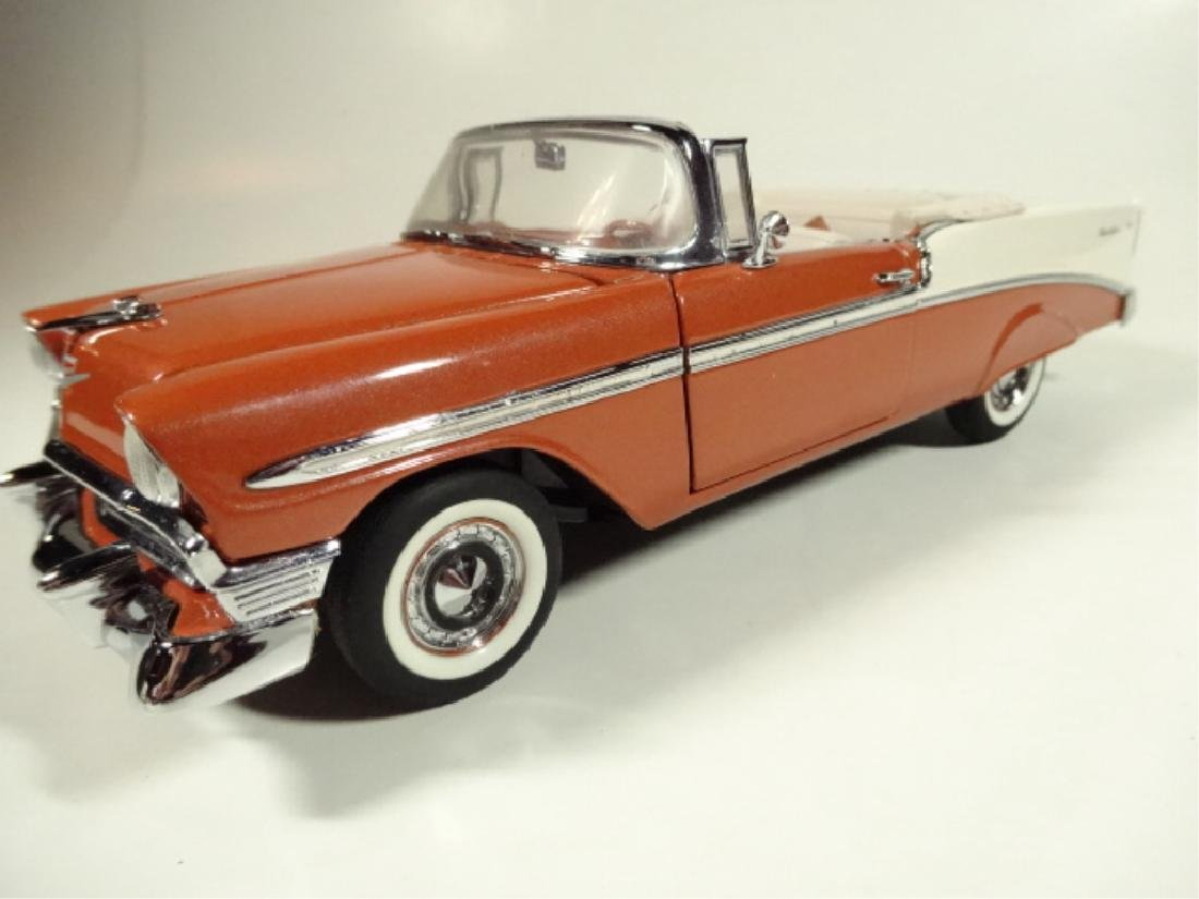 1956 CHEVROLET BEL AIR CONVERTIBLE, MINT CONDITION, - 2