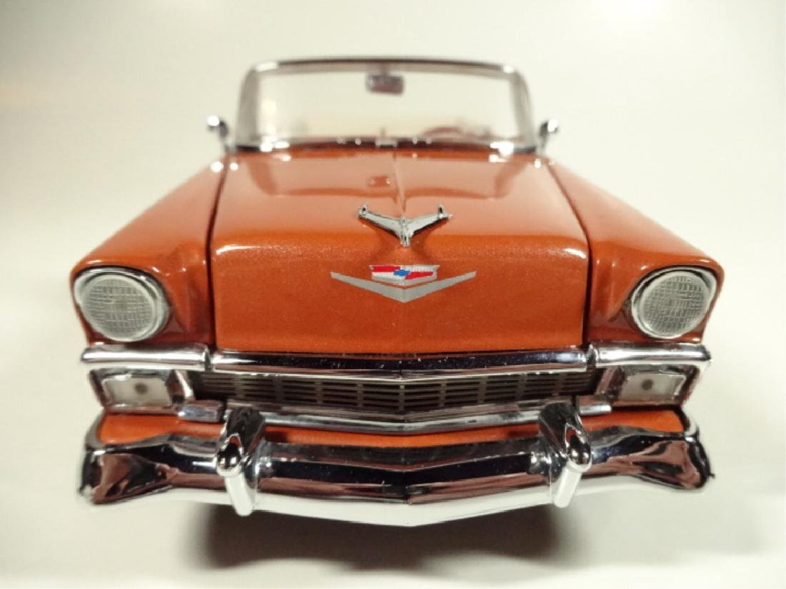 1956 CHEVROLET BEL AIR CONVERTIBLE, MINT CONDITION, - 3