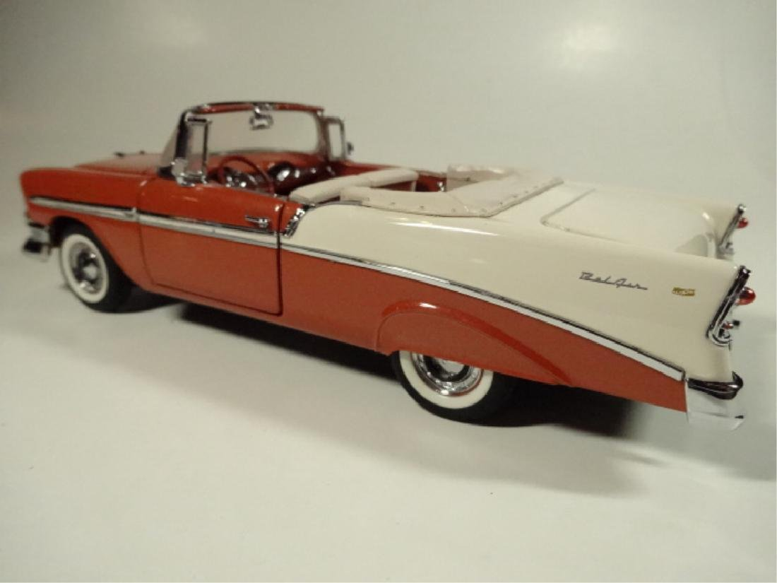 1956 CHEVROLET BEL AIR CONVERTIBLE, MINT CONDITION, - 5