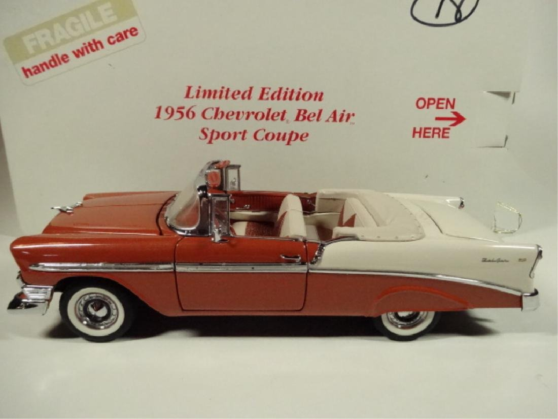 1956 CHEVROLET BEL AIR CONVERTIBLE, MINT CONDITION, - 7