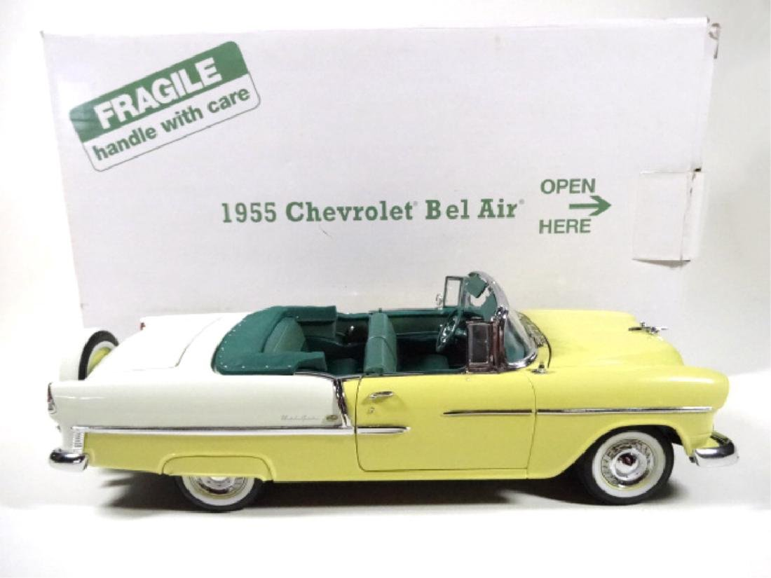 1955 CHEVROLET BEL AIR CONVERTIBLE, MINT CONDITION, - 9