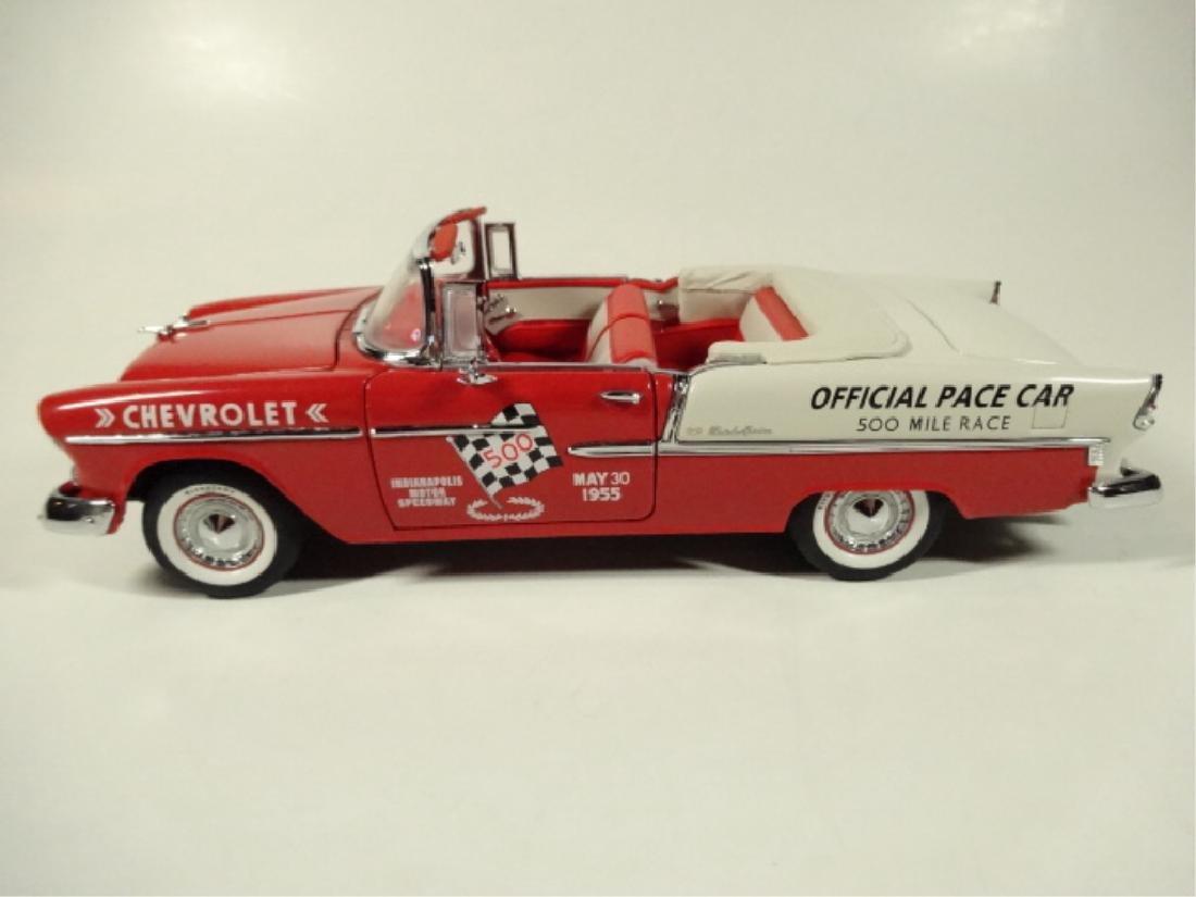1955 CHEVROLET BEL AIR INDY 500 PACE CAR, MINT - 2