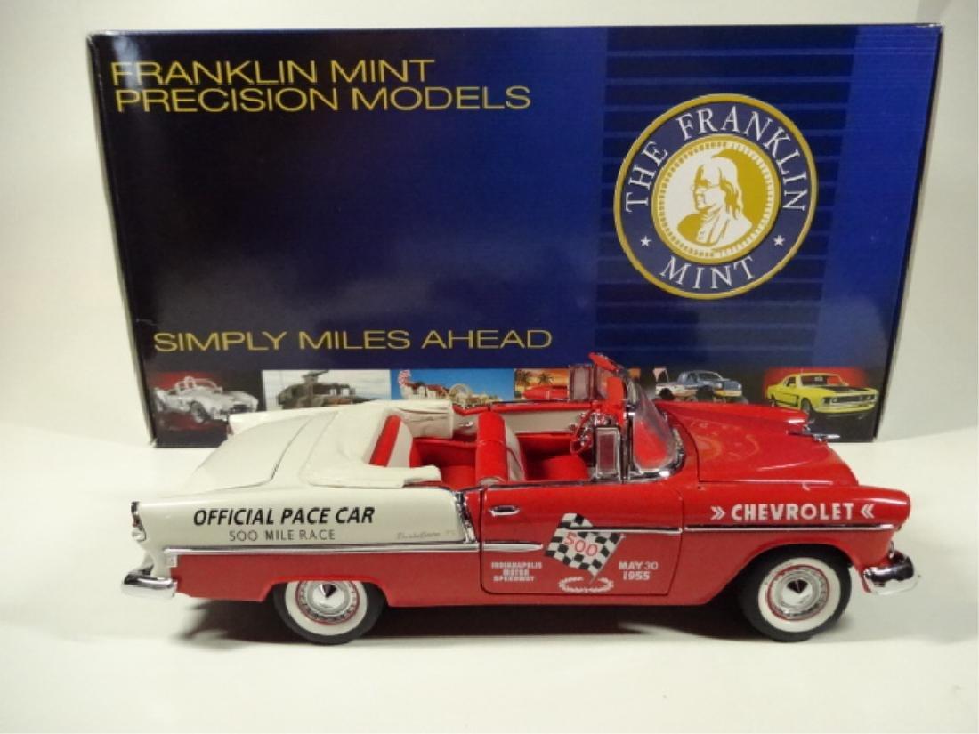 1955 CHEVROLET BEL AIR INDY 500 PACE CAR, MINT - 6
