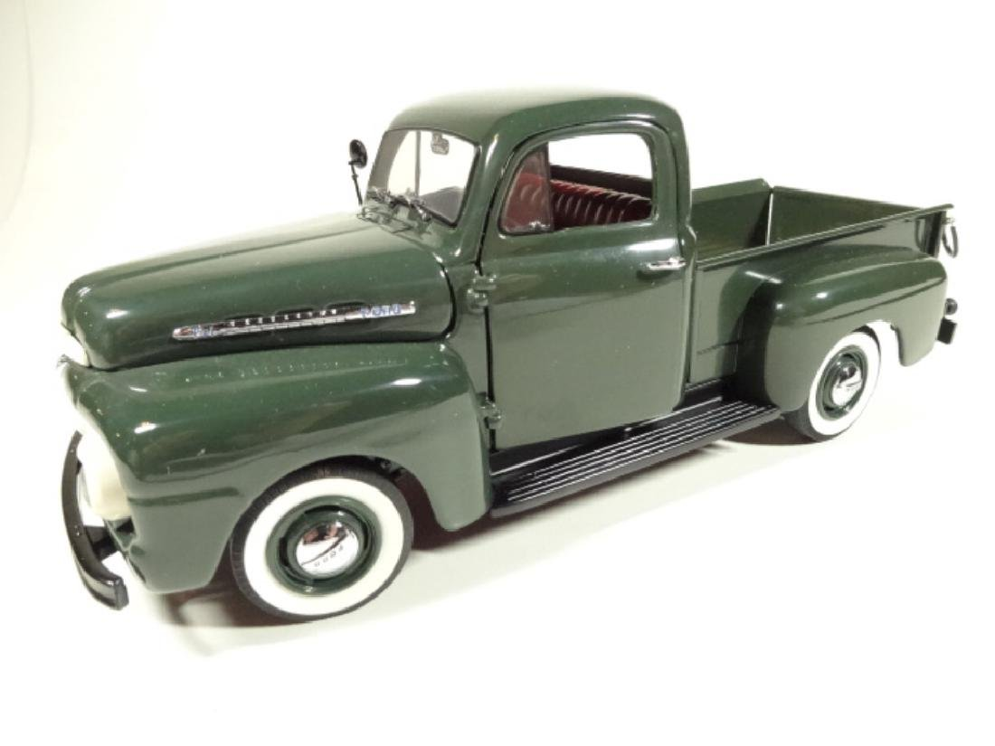 1957 FORD F-1 PICKUP TRUCK, MINT CONDITION, DIECAST CAR