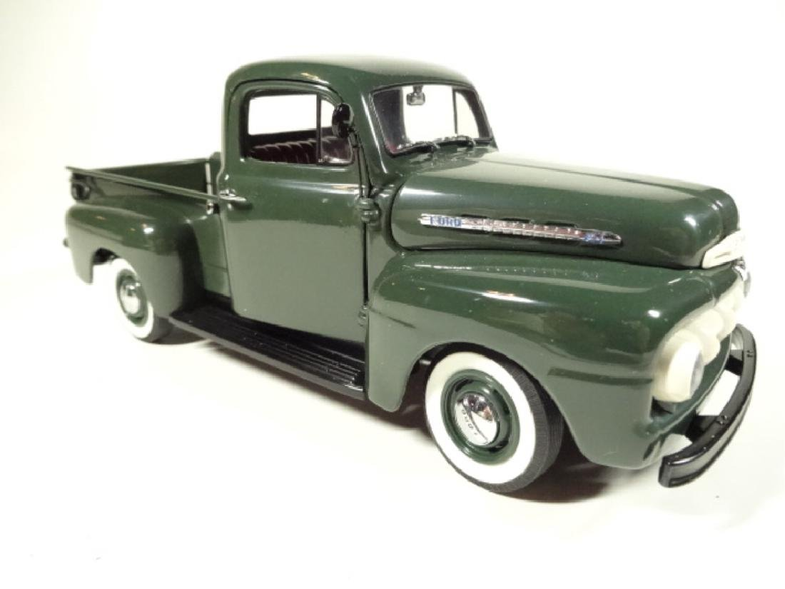 1957 FORD F-1 PICKUP TRUCK, MINT CONDITION, DIECAST CAR - 3