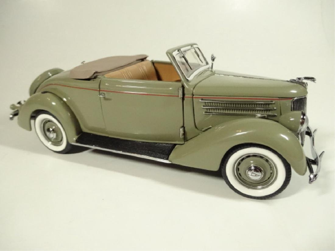 1936 FORD DELUXE CABRIOLET, MINT CONDITION, LIMITED