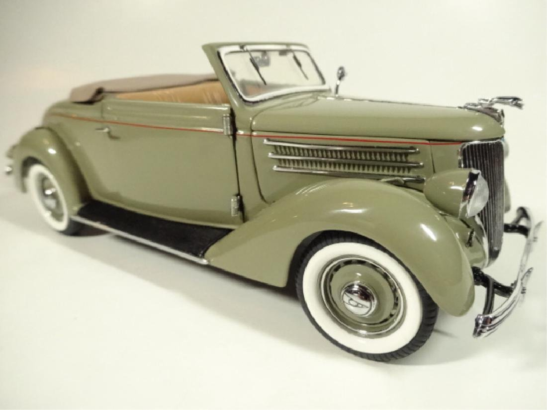 1936 FORD DELUXE CABRIOLET, MINT CONDITION, LIMITED - 2