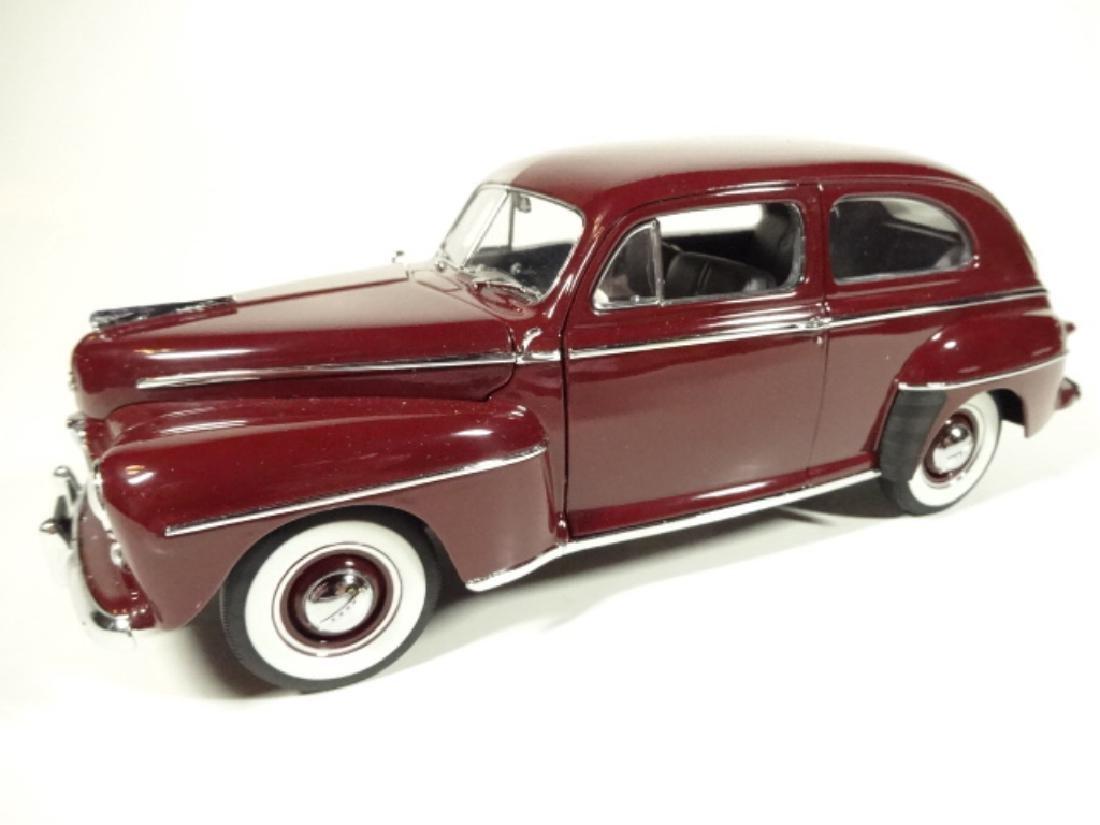 1947 FORD SUPER DELUXE TUDOR SEDAN, MISSING REAR VIEW