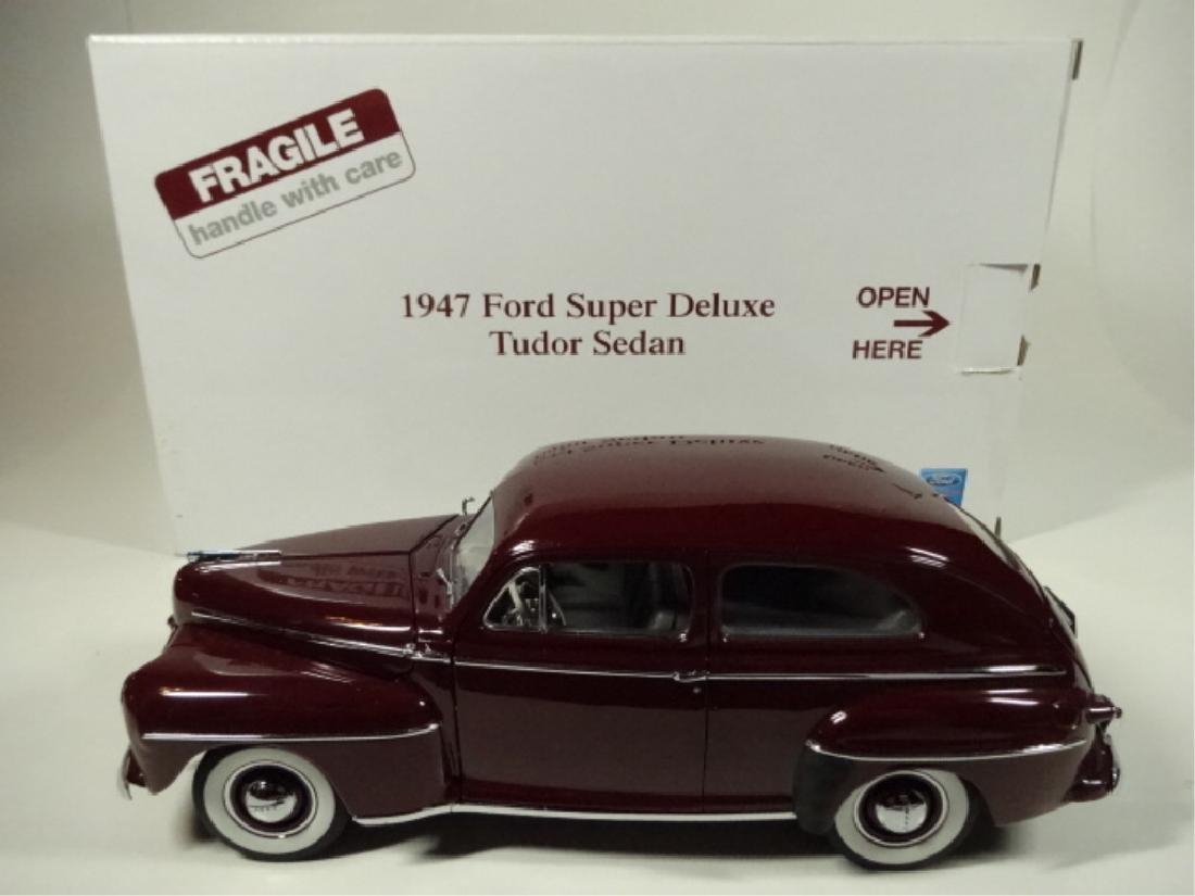 1947 FORD SUPER DELUXE TUDOR SEDAN, MISSING REAR VIEW - 7