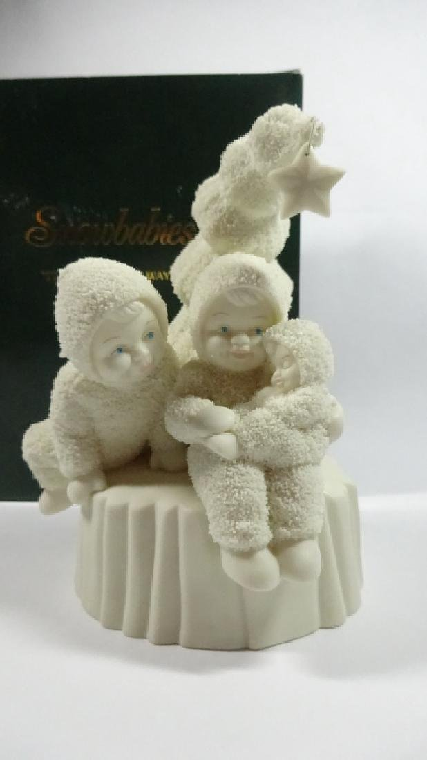 "SNOWBABIES BISQUE PORCELAIN FIGURINE, ""I'LL LOVE YOU"