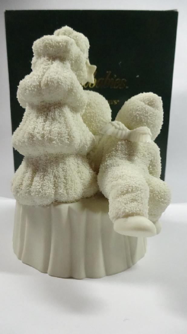 "SNOWBABIES BISQUE PORCELAIN FIGURINE, ""I'LL LOVE YOU - 5"
