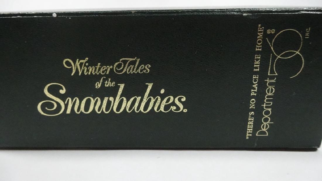 "SNOWBABIES BISQUE PORCELAIN FIGURINE, ""THERE'S NO PLACE - 4"