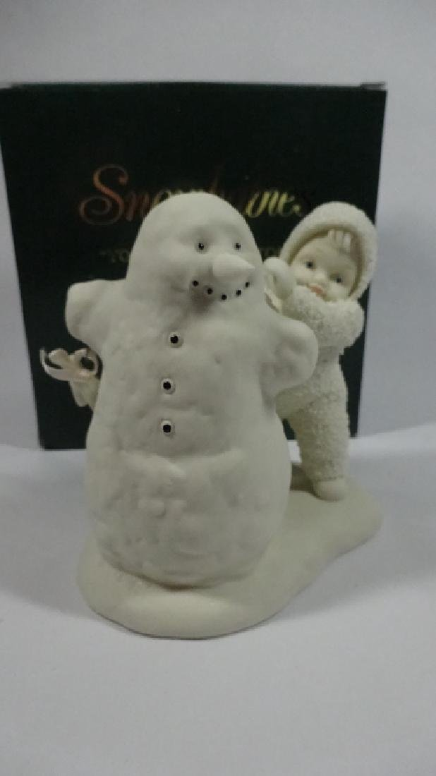 """SNOWBABIES BISQUE PORCELAIN FIGURINE, """"YOU NEED WINGS - 2"""