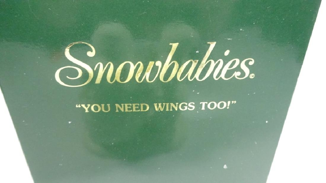 """SNOWBABIES BISQUE PORCELAIN FIGURINE, """"YOU NEED WINGS - 5"""