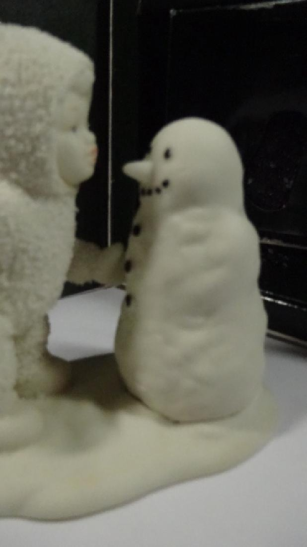 """SNOWBABIES BISQUE PORCELAIN FIGURINE, """"WHY DON'T YOU - 3"""
