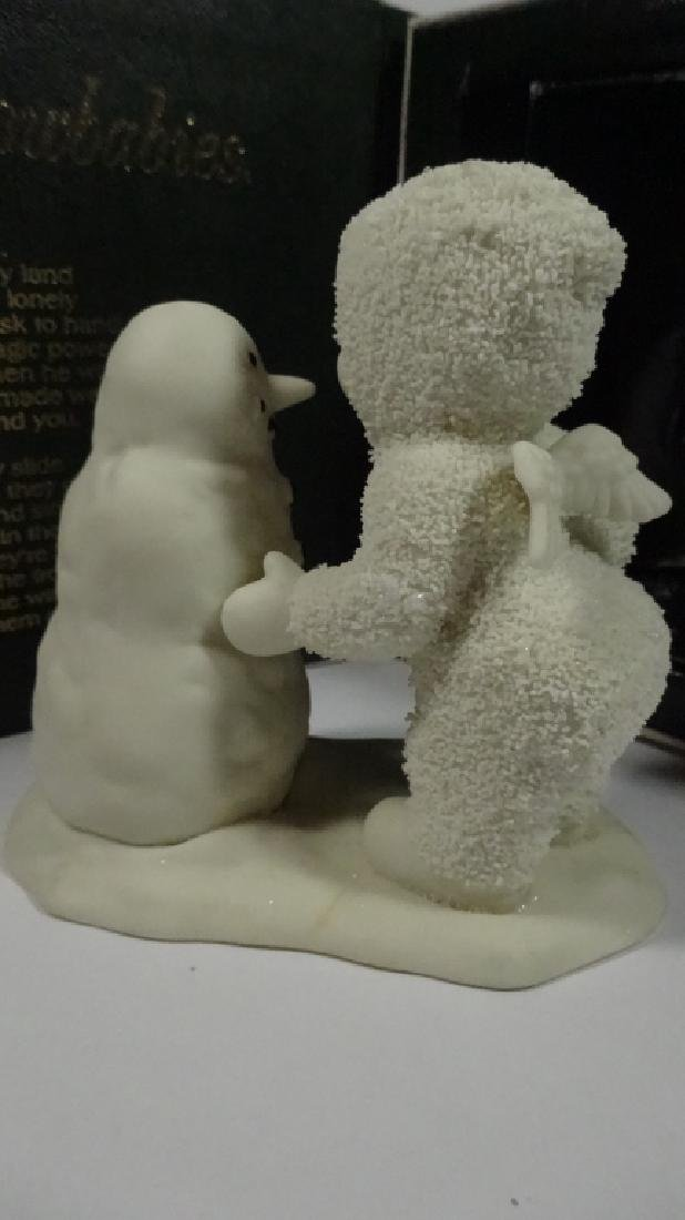 """SNOWBABIES BISQUE PORCELAIN FIGURINE, """"WHY DON'T YOU - 5"""