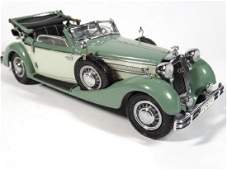 1936 HORCH 853 CONVERTIBLE, 1:24 DIECAST CAR BY CMC,