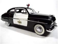1949 MERCURY POLICE CRUISER CLUB COUPE, 1:24 DIECAST