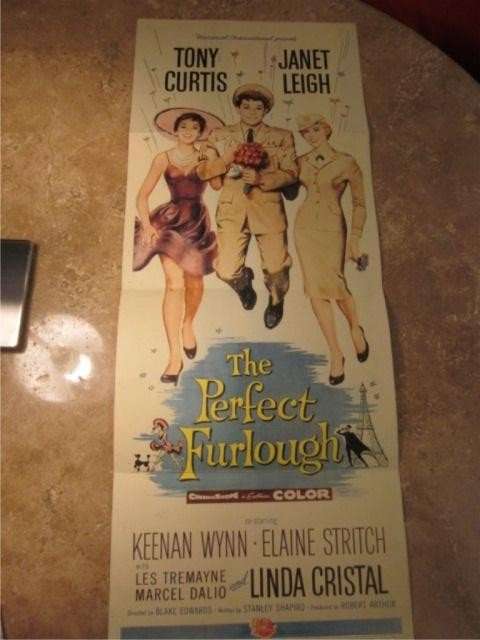 "24: ONE SHEET VINTAGE MOVIE POSTER - ""THE PERFECT FURLO"