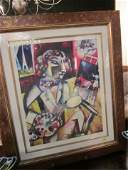 72 MARC CHAGALL LIMITED EDITION LITHOGRAPH NUMBERED 7