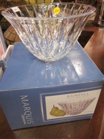 """10: MARQUIS BY WATERFORD """"RAINFALL COLLECTION"""" 8"""" BOWL"""