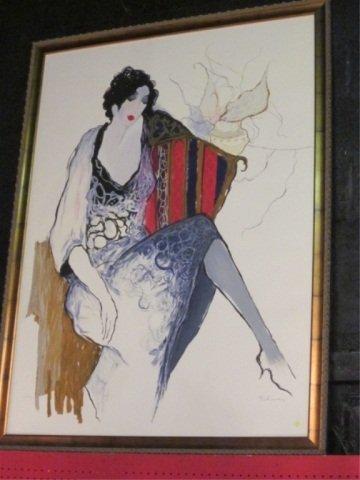 """195: HUGE TARKAY """"REVERIE"""" ARTIST'S PROOF LIMITED EDITI"""