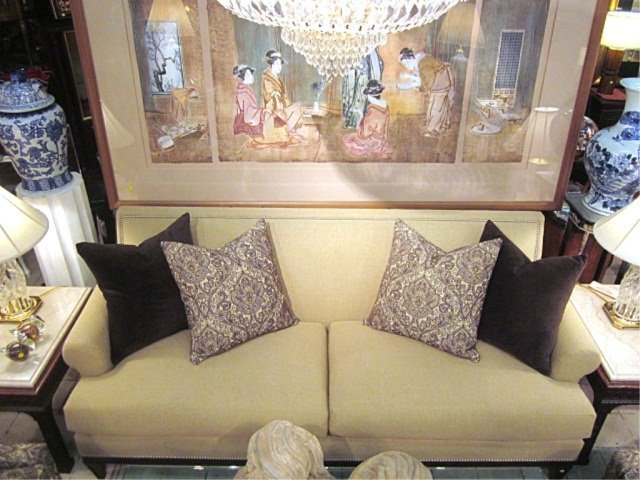 113: PRISTINE BERNHARDT FOR BLOOMINGDALE'S SOFA - 4