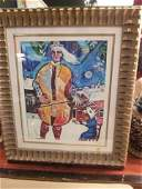 139 MARC CHAGALL LIMITED EDITION LITHOGRAPH NUMBERED