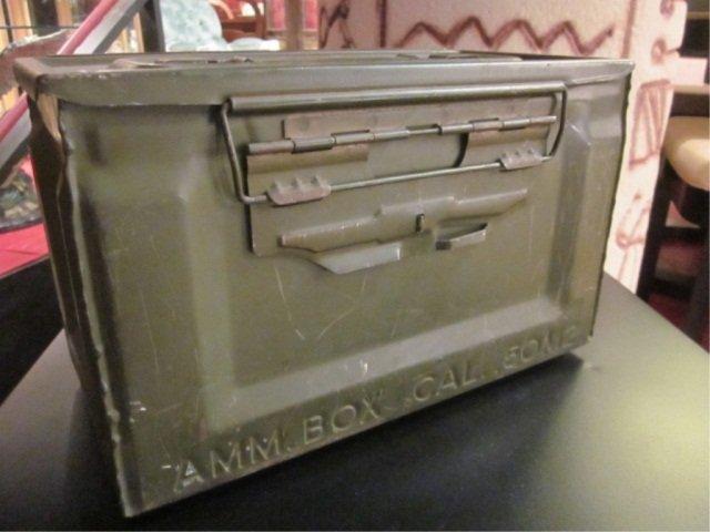 3: VINTAGE AMMO BOX