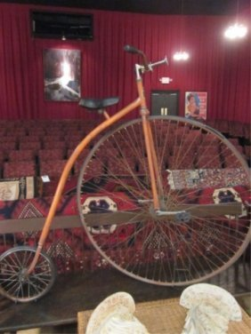 11: BONESHAKER REPRODUCTION ANTIQUE HIGH WHEEL BICYCLE