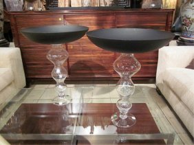 #1 OF TWO AVAILABLE LARGE CONTEMPORARY CENTERPIECE