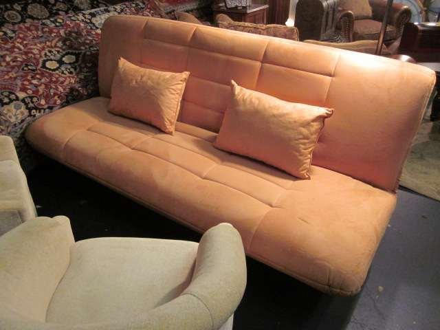 10: NEW, NEVER USED CONTEMPORARY MICROFIBER FUTON WITH
