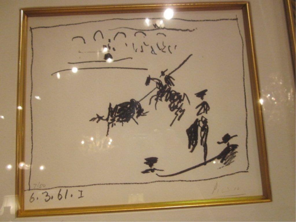 "77: PABLO PICASSO (SPANISH, 1881-1973) - ""LA PIQUE, 196 - 3"