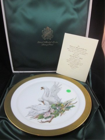 "22: LIMITED EDITION BOEHM ""BIRD OF PEACE"" COLLECTOR PLA"