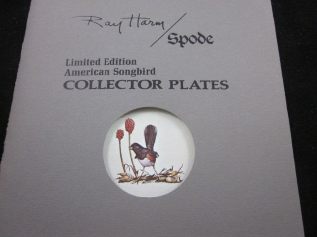 24: SPODE / RAY HARM LIMITED EDITION AMERICAN SONGBIRD