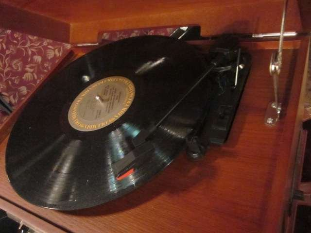 12: CROSLEY CR74 MUSICIAN ENTERTAINMENT CENTER - WITH P - 6