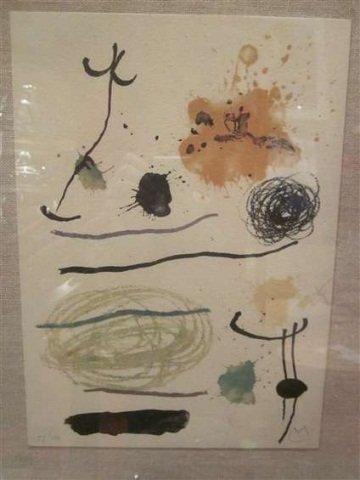88: JOAN MIRO (1893-1983, SPANISH) LIMITED EDITION LITH