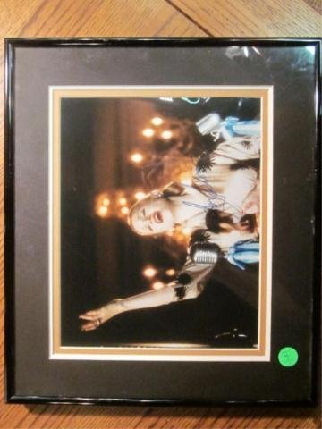 "1A: AUTOGRAPHED PHOTO OF MADONNA AS ""EVITA"""
