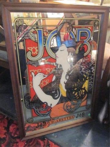 12: RETRO STYLE JOB BRAND ROLLING PAPERS MIRROR, APPROX