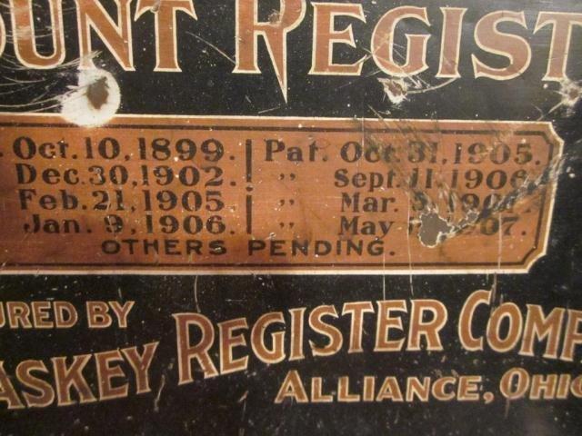 8: ANTIQUE MCCASKEY ACCOUNT REGISTER - 3