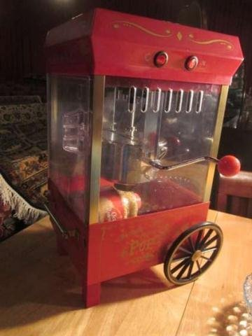 3: TABLE TOP MOVIE THEATER STYLE POPCORN MACHINE, INCLU