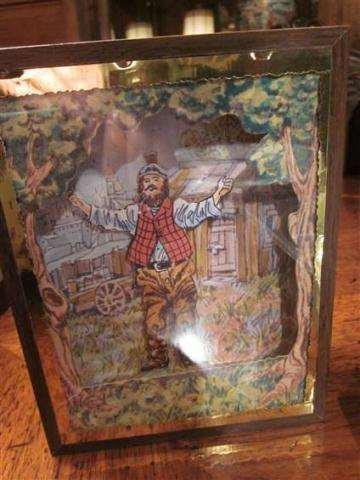 15: REUGE SWISS MOVEMENT MUSIC BOX WITH DANCING MARIONE