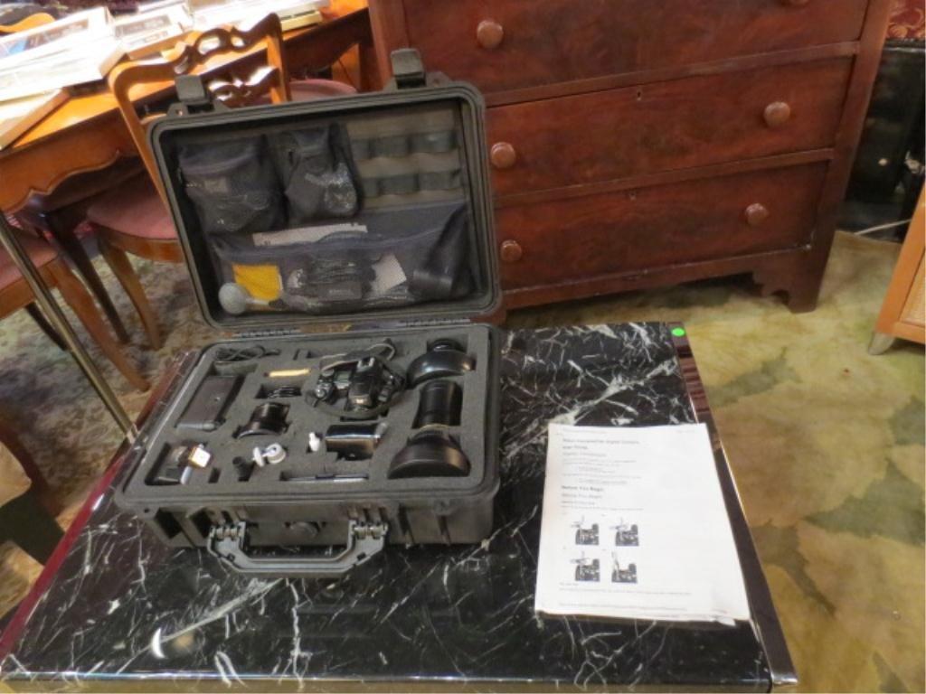 14: NIKON COOLPIX 8700 8MP DIGITAL CAMERA WITH 8X OPTIC