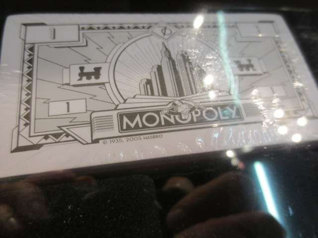 1: MONOPOLY PREMIER 70TH ANNIVERSARY EDITION, NEVER USE - 6