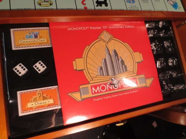 1: MONOPOLY PREMIER 70TH ANNIVERSARY EDITION, NEVER USE - 7
