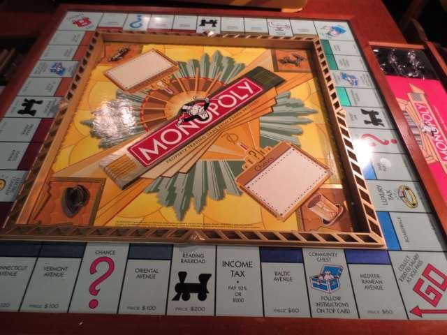 1: MONOPOLY PREMIER 70TH ANNIVERSARY EDITION, NEVER USE - 9